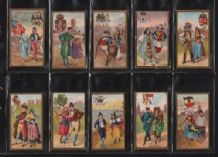 cigarette cards Nations 1923 China Turkey Greece, Russia
